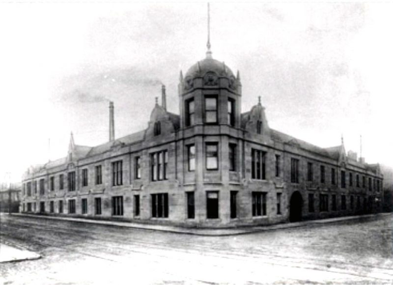 The old Biscuit factory