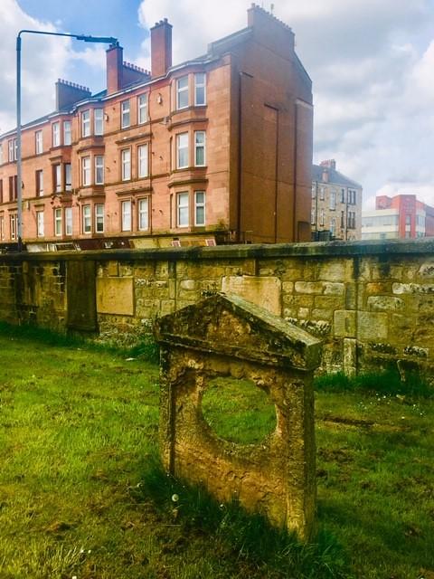 photograph of Calton Burial Ground